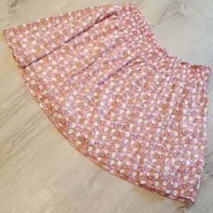 OLD NAVY FLOWERED SKIRT
